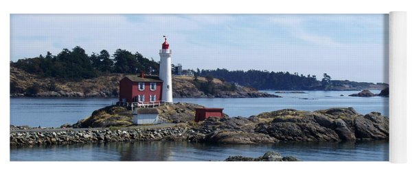 Fisgard Lighthouse Shoreline Yoga Mat