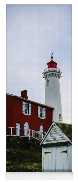 Fisgard Lighthouse Yoga Mat