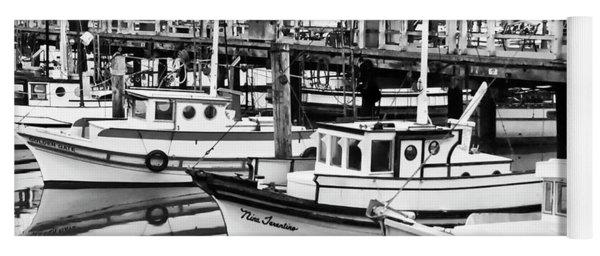 Fishermans Wharf Yoga Mat