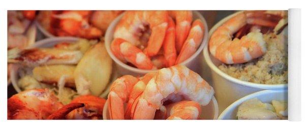 Fishermans Wharf Seafood Delights Yoga Mat