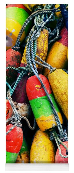 Fishermen's Floats Yoga Mat