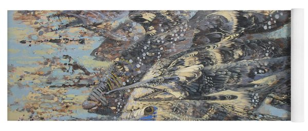 Fishes. Monotype Yoga Mat
