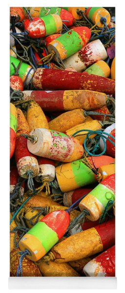 Fishing Buoys Yoga Mat