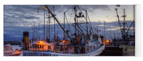 Fishing Fleet Yoga Mat