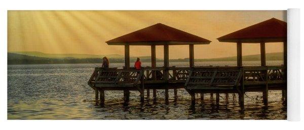 Fishing Pier Yoga Mat