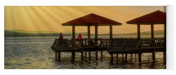 Fishing Pier Yoga Mat