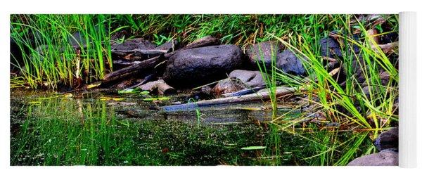 Fishing Pond Yoga Mat