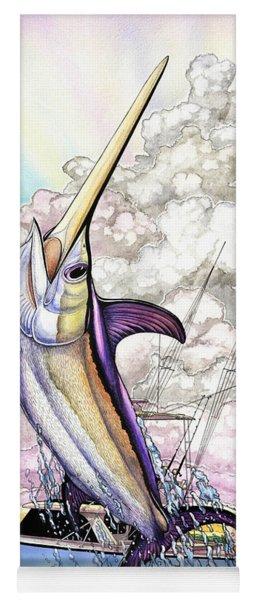 Fishing Swordfish Yoga Mat