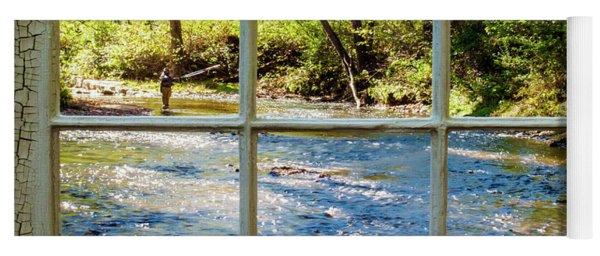 Fishing Window Yoga Mat
