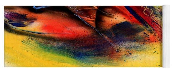 Fishtail Abstract Yoga Mat