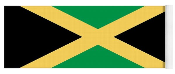 Flag Of Jamaica Yoga Mat