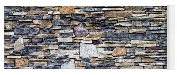 Flagstone Wall Yoga Mat