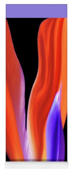 Flame - Bird Of Paradise   Yoga Mat