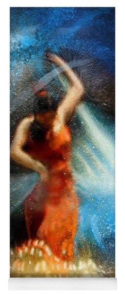 Flamencoscape 05 Yoga Mat