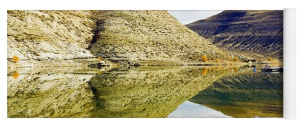 Flaming Gorge Water Reflections Yoga Mat