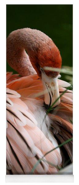Flamingo Boudoir Yoga Mat
