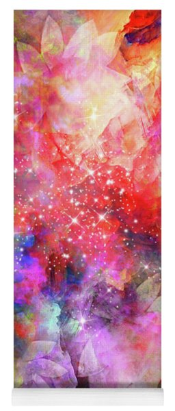 Yoga Mat featuring the digital art Flammable Imagination  by Dedric Artlove W