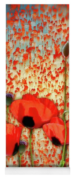Flanders Fields Yoga Mat
