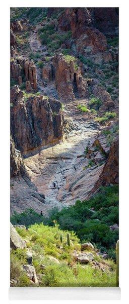 Flat Iron Waterfall Basin Yoga Mat