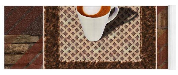Flat White - Coffee Art Yoga Mat