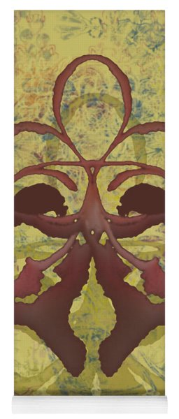 Fleur De Lis Yoga Mat