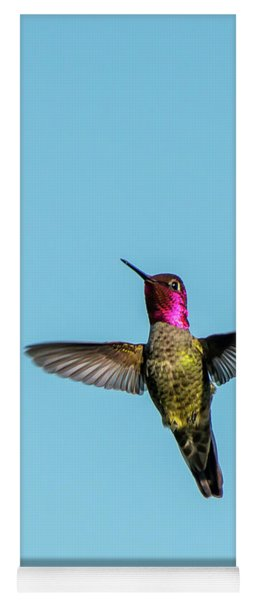 Flight Of A Hummingbird Yoga Mat