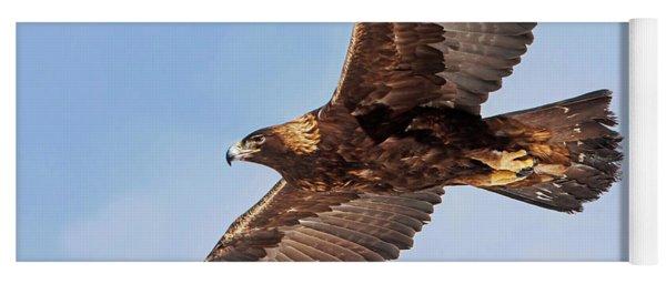Flight Of The Golden Eagle Yoga Mat