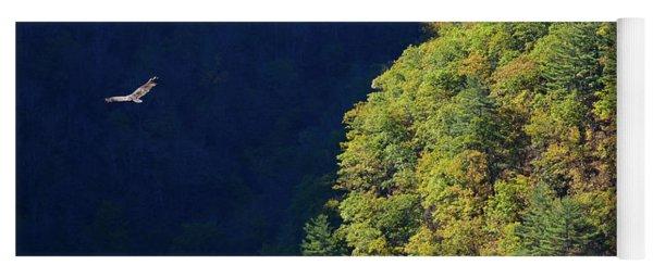 Flight Over Pine Creek Gorge Yoga Mat