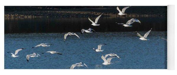 Flock Of Them Yoga Mat