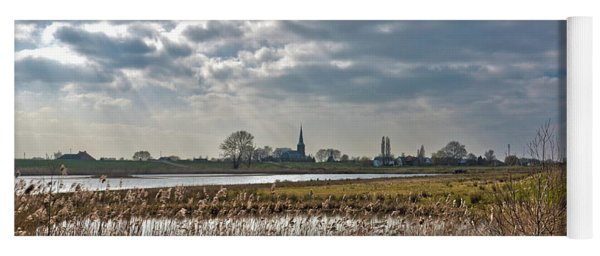 Floodplains Near Culemborg Yoga Mat