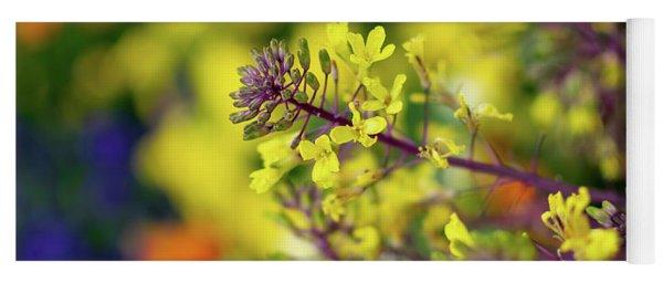 Flora Flora Flora Yoga Mat