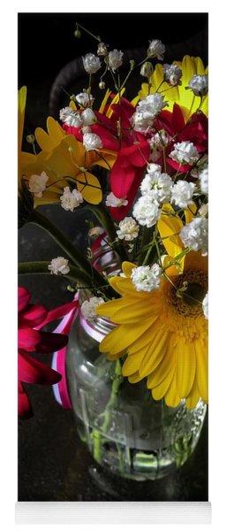 Floral Arangement Yoga Mat