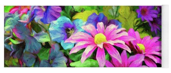 Floral Bouqet Yoga Mat