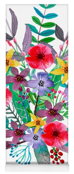 Just Flora Yoga Mat