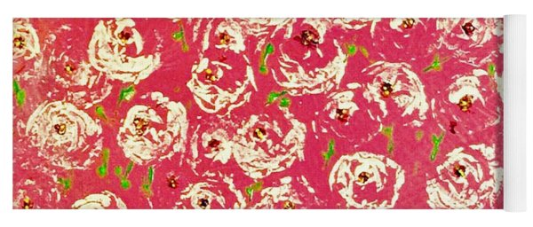 Floral Design Yoga Mat