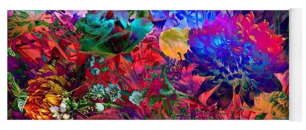Floral Dream Of Summer Yoga Mat