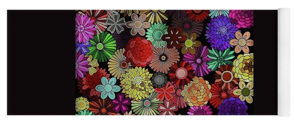 Floral Love Yoga Mat
