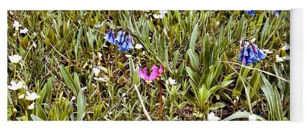 Floral Patch Yoga Mat