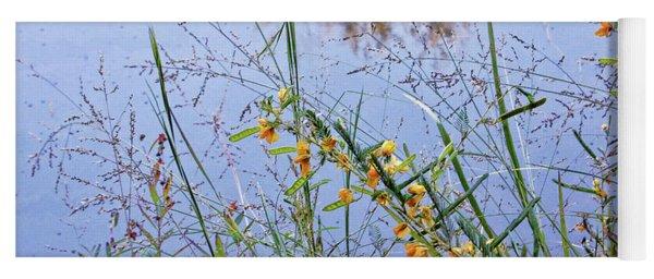 Floral Pond  Yoga Mat