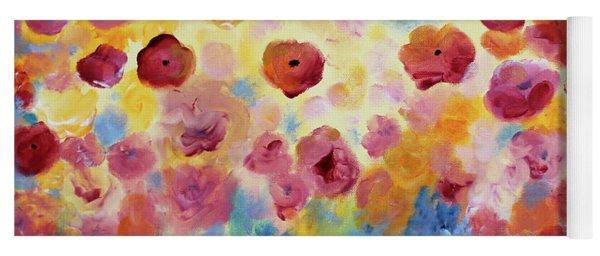 Floral Splendor II Yoga Mat