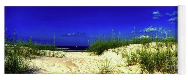 Florida Daytona Beach Sand Dunes Yoga Mat