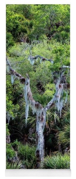 Florida Spanish Moss Yoga Mat