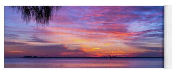 Florida Sunset #2 Yoga Mat