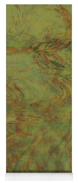 Flow Improvement In The Grass Yoga Mat