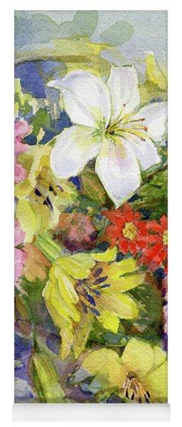 Flower Basket Yoga Mat