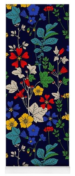 Flower Bed Yoga Mat
