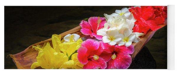 Flower Boat Yoga Mat