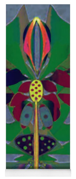 Flower Design Yoga Mat