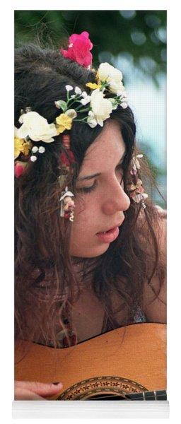 Flower Girl Yoga Mat