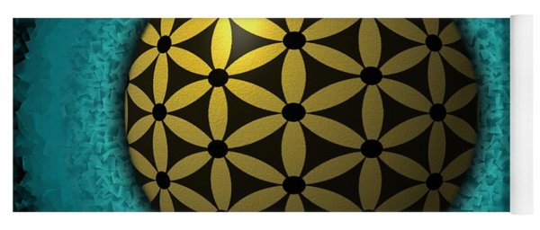 Flower Of Life Yoga Mat